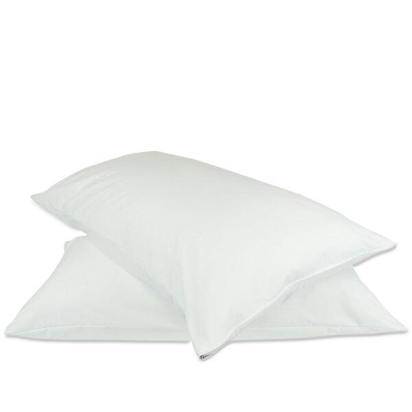 Plain Zipper Pillow Protector (Set of 2) by Alwyn Home