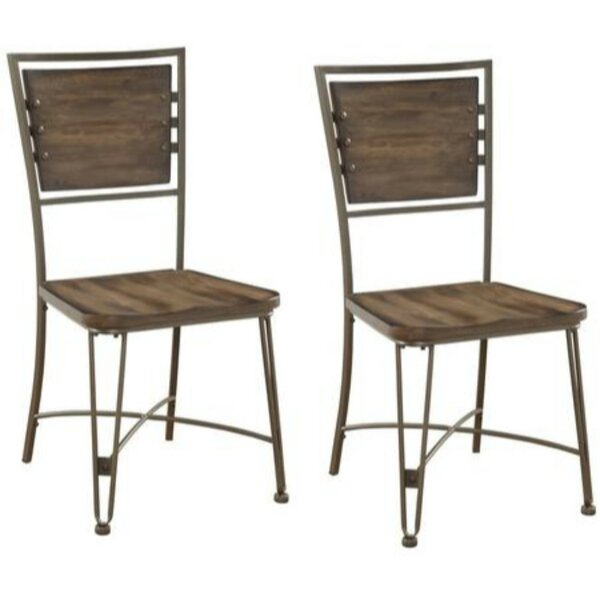 Brandenburg Solid Wood Dining Chair (Set of 2) by Williston Forge