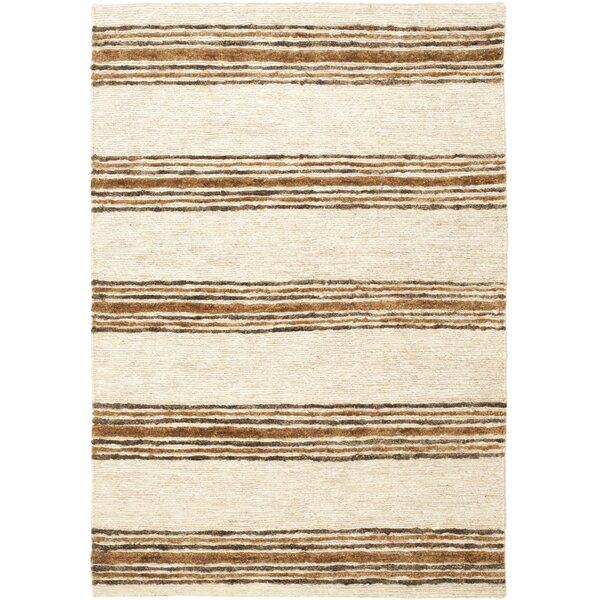 Pinehurst Natural/Rust Area Rug by Bungalow Rose