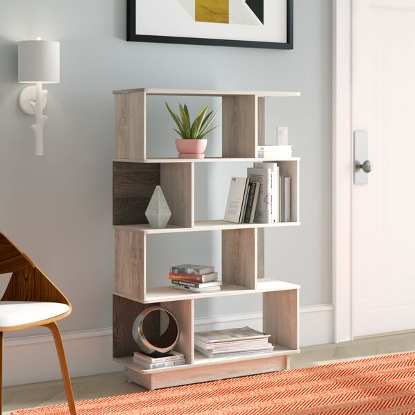 Reviews Raul Geometric Bookcase by George Oliver