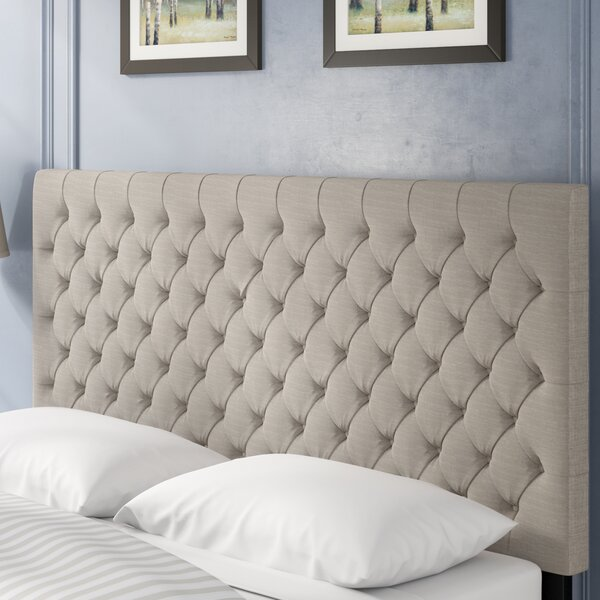 Hallsburg Upholstered Panel Headboard by Greyleigh