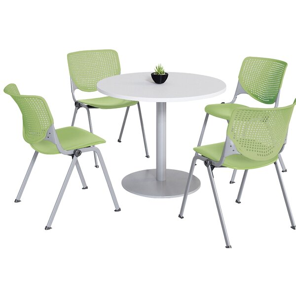 Round Breakroom Table and Chair Set by KFI Studios KFI Studios