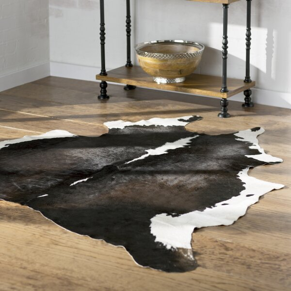 Agate Handmade Black/White Area Rug by Trent Austin Design