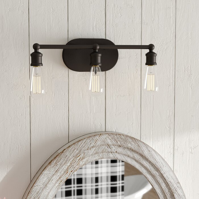 Janette 3 Light Vanity
