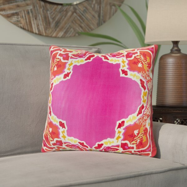 Knowland Silk Throw Pillow by Bloomsbury Market