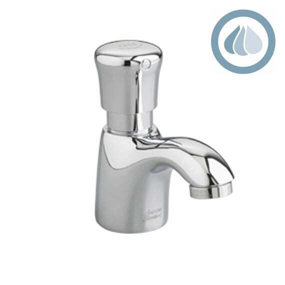 Metering Pillar Tap Faucet 1.5 GPM Less Grid Drain with Mixing Valve by American Standard