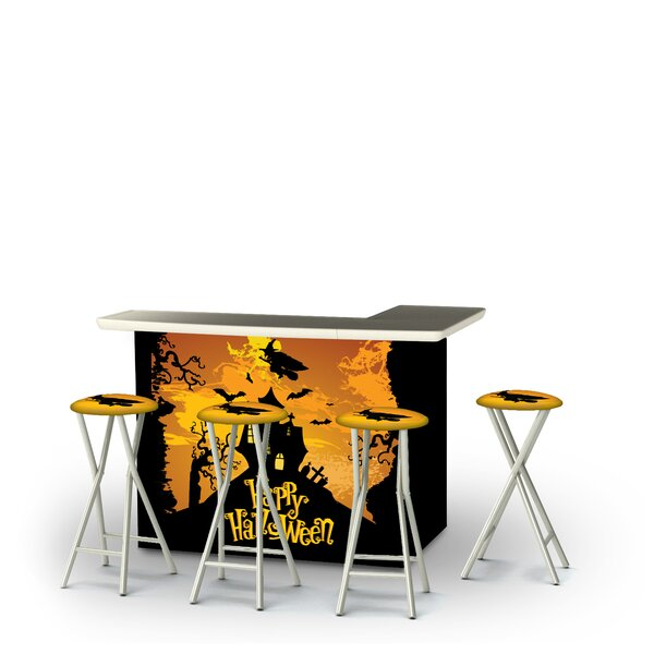 Zialan Halloween Witch 5-Piece Bar Set by East Urban Home