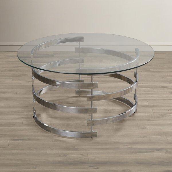 Telly Sled Coffee Table By Orren Ellis