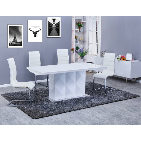 Melia 5 Piece Dining Set by Orren Ellis Orren Ellis