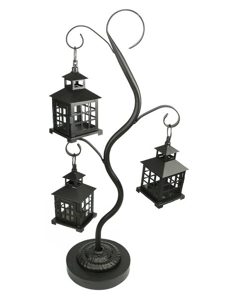 4 Piece Metal Lantern Set by Northlight Seasonal