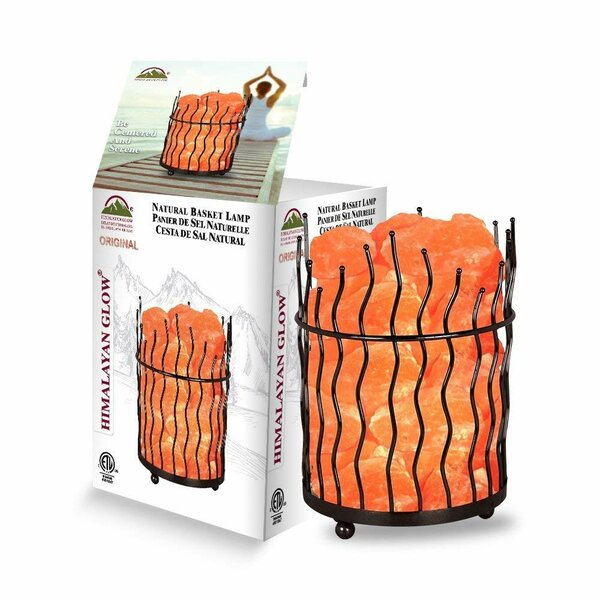 Badger 9 Salt Lamp (Set of 2) by World Menagerie