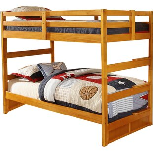 Bargain Hinnant Twin over Twin Bunk Bed ByZoomie Kids