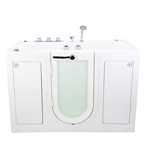 Tub4Two Hydro Air and MicroBubble Massage 31.75 x 60 Walk-in Whirlpool by Ella Walk In Baths