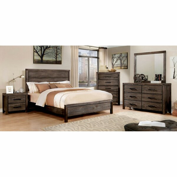 Pettigrew Standard Panel Bed by Gracie Oaks