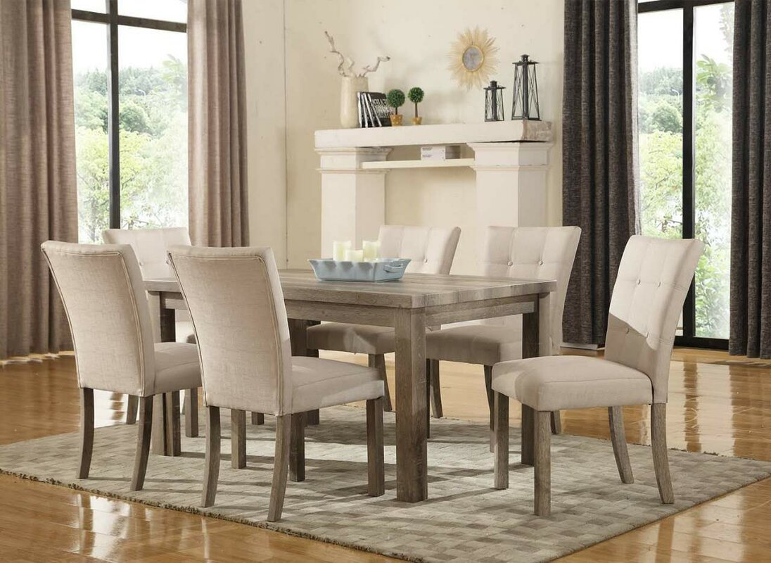 7 Piece Dining Set ~ Urban piece dining set reviews birch lane