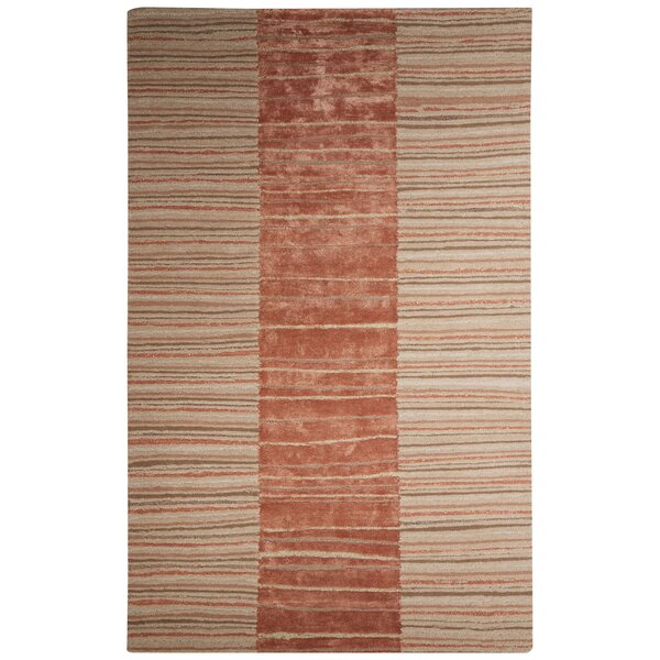 Etho Hand-Tufted Taupe/Brown Area Rug by Nikki Chu