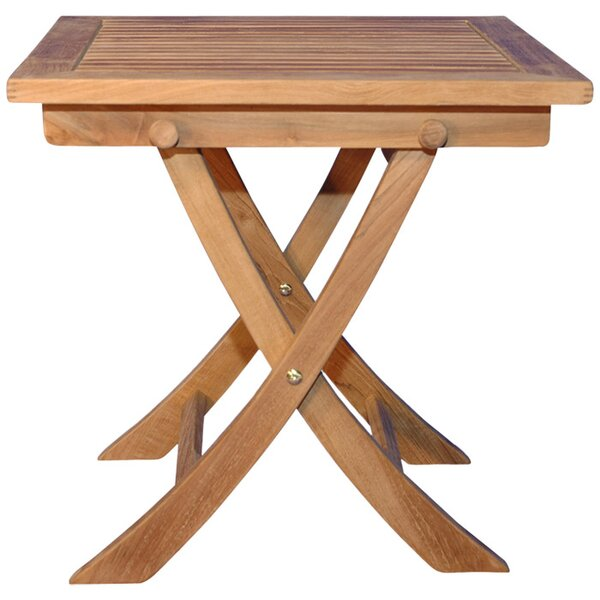 Occasional Folding Teak Side Table by Regal Teak