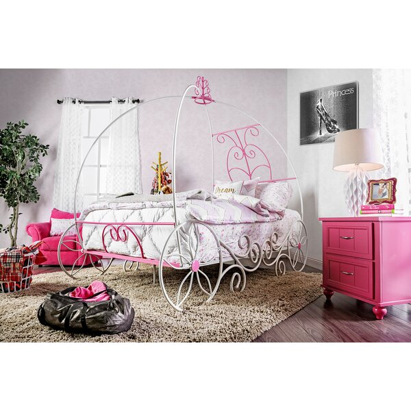 Hiawassee Canopy Bed by Zoomie Kids