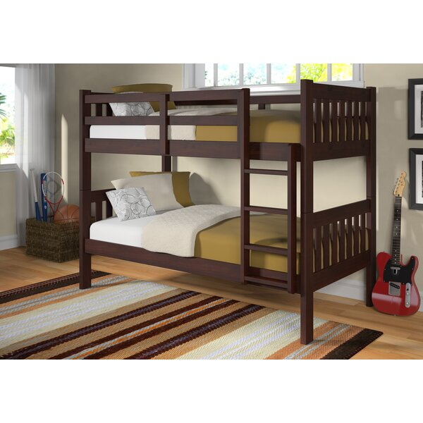 Rangel Twin over Twin Bunk Bed by Harriet Bee