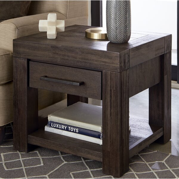 Robbs End Table By Union Rustic