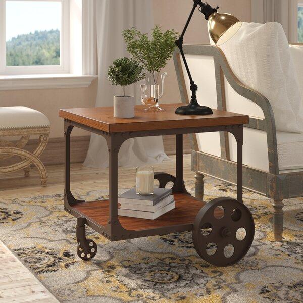Scoggins End Table by Laurel Foundry Modern Farmhouse