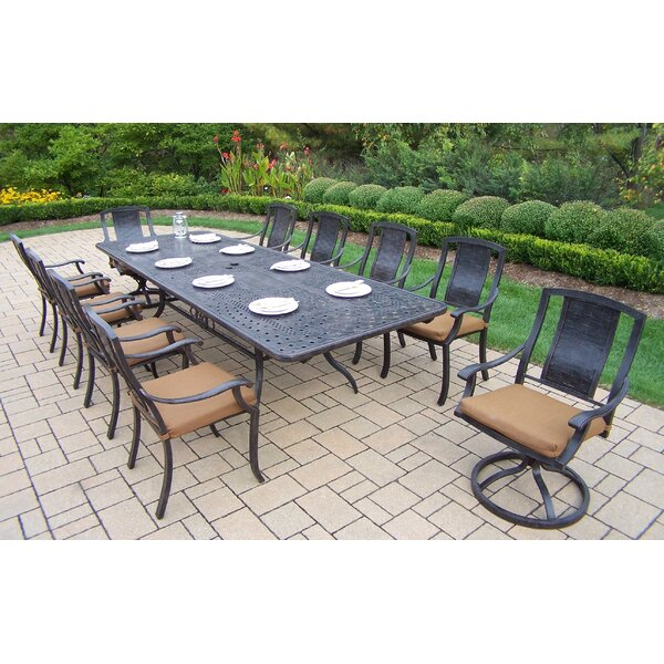 Zulema 11 Piece Dining Set by Charlton Home