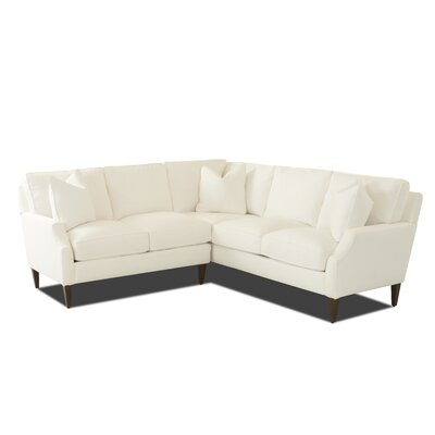 Birch Lane Heritage Small Shaped Sectional Body Fabric Sectionals