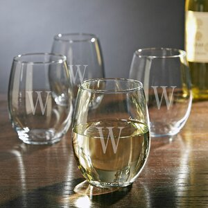 Personalized 21 oz. Wine Glass (Set of 4)