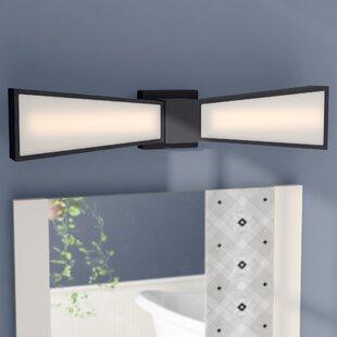 Read Reviews Staciee 2-Light LED Bath Bar ByLatitude Run