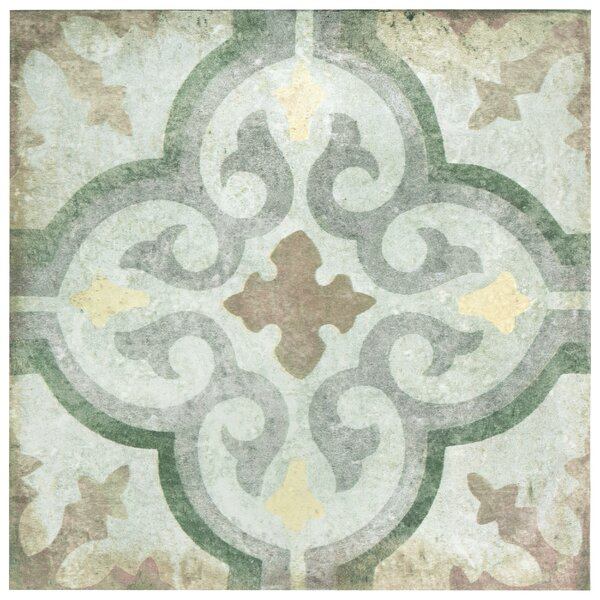 Relic Décor 8.75 x 8.75 Porcelain Field Tile in Palazzo by EliteTile