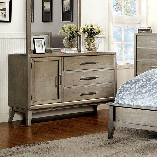 Adriane 3 Drawer Combo Dresser by Latitude Run