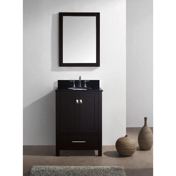 Serigne 25 Single Bathroom Vanity Set with Mirror by Willa Arlo Interiors