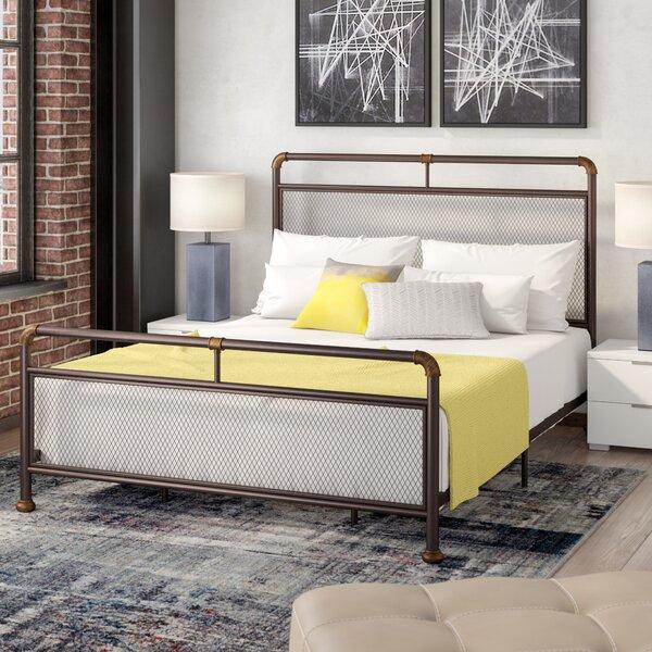 Branden Mesh Design Panel Bed by Williston Forge
