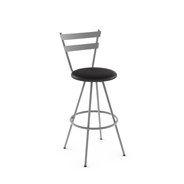 Jameson 30 Swivel Bar Stool by Latitude Run