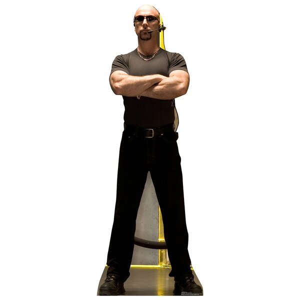 Club Bouncer Life Size Cardboard Cutout Standup by Advanced Graphics