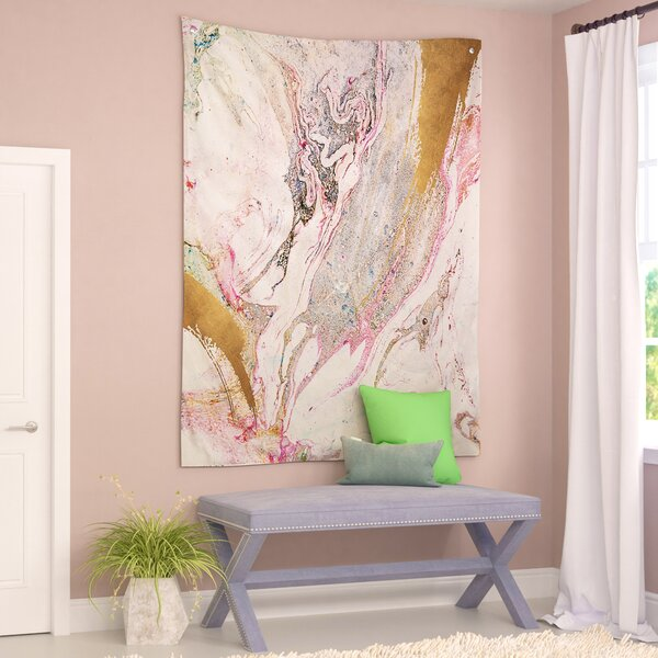 Winter Marble Tapestry by Willa Arlo Interiors