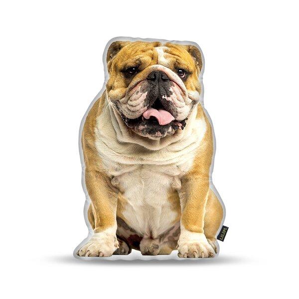 Matthies English Bulldog Throw Pillow by Ebern Designs