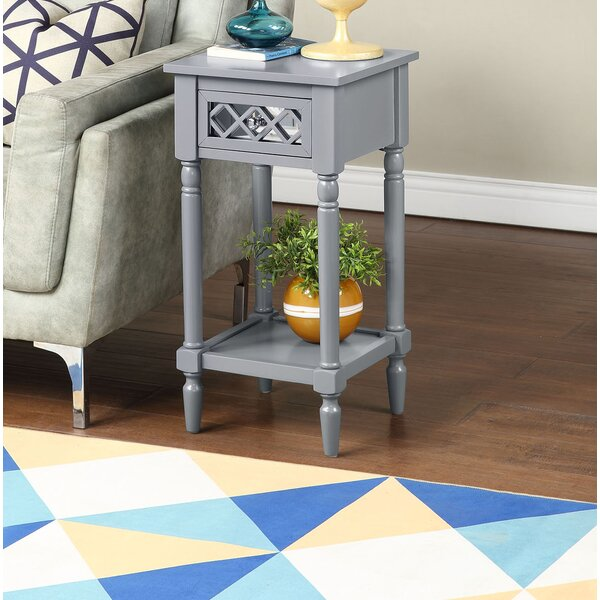 Callery End Table With Storage By Charlton Home