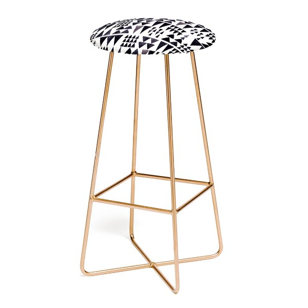 Wonder Forest Scandinave On Repeat 30 Bar Stool by East Urban Home