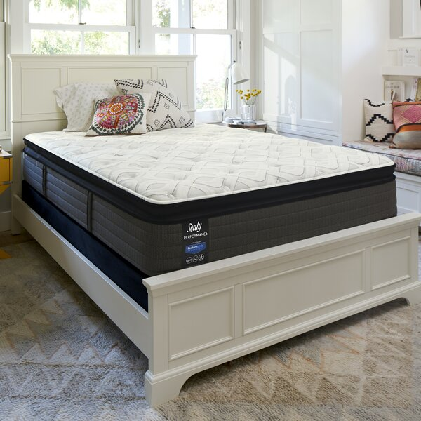 Response™ Performance 14'' Cushion Firm Euro Top Mattress and 9 Box Spring by Sealy