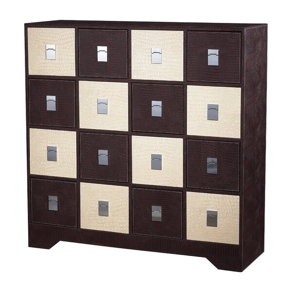 Lenita 16 Drawer Accent Chest by Brayden Studio Brayden Studio
