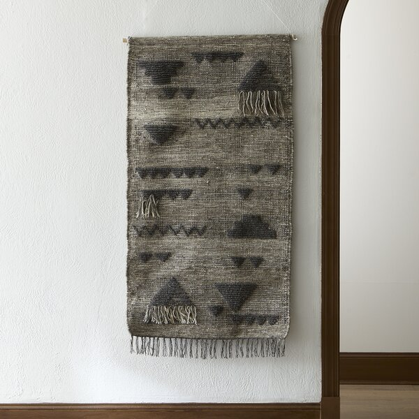 Oversized Hand Woven Wall Hanging by Langley Stree