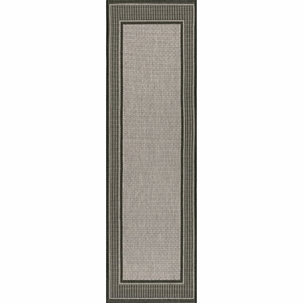 Mcelfresh Gray Indoor/Outdoor Rug by Winston Porter
