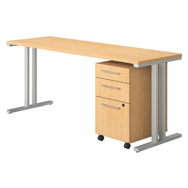 400 Series 2 Piece Desk Office Suite by Bush Business Furniture
