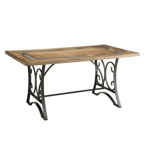 Cuccia Scrollwork Stand Dining Table by Fleur De Lis Living