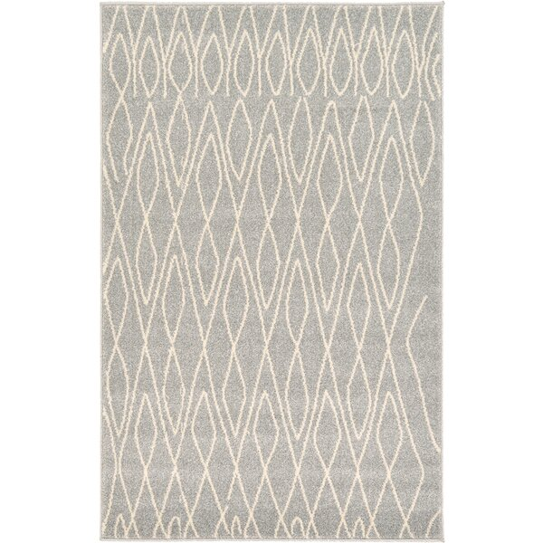 Doretha Gray Area Rug by Zipcode Design