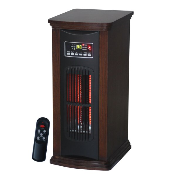 Portable Electric Infrared Tower Heater by Comfort Glow