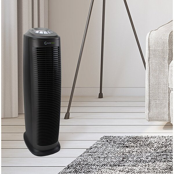 Room True HEPA Air Purifier with UV-C Light and Odor Reducer by InvisiClean