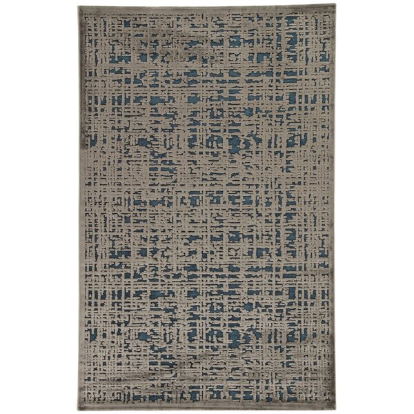 Oak Blue/Gray Area Rug by Trent Austin Design