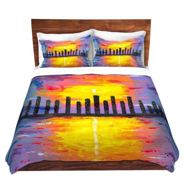 City Of Lights Duvet Cover Set